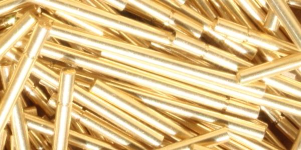 brass rod turned part