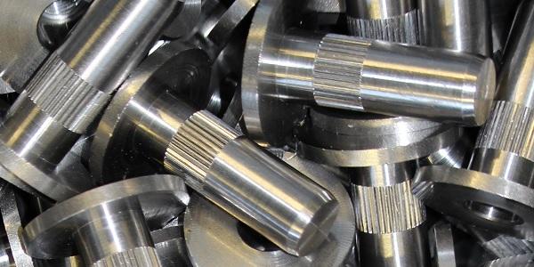 knurled rivet turning