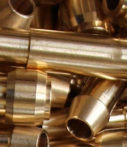 Hydraulic brass socket, brass part turning